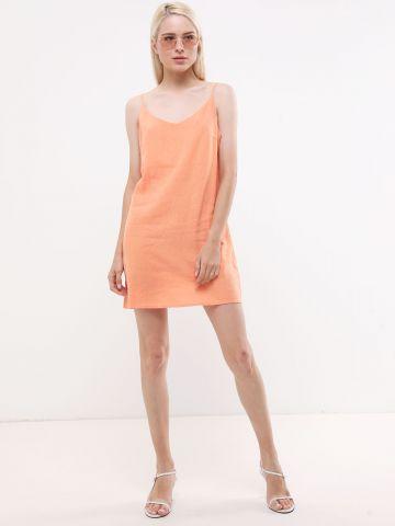 שמלת מיני פשתן