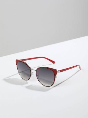 משקפיים עגולים עם מסגרת מחודדת Fiumicino