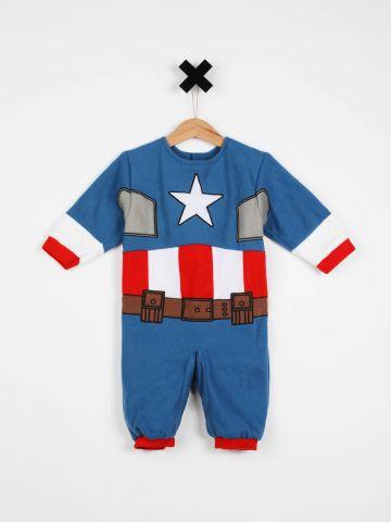 תחפושת קפטן אמריקה / בייבי / תחפושות לפורים