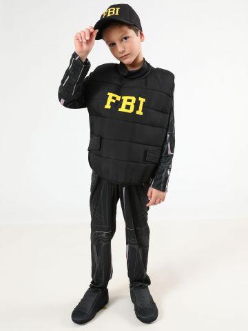 תחפושת שוטר FBI ילדים  / תחפושות לפורים
