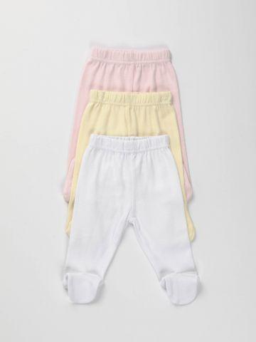 מארז 3 מכנסיים עם רגליות/ בייבי בנות