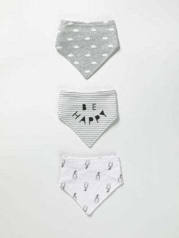 מארז 3 סינרים בהדפסים שונים / בייבי בנים