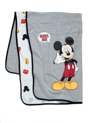 שמיכת תינוק בהדפס Mickey Mouse