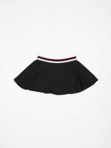 מכנסי חצאית עם גומי ספורטיבי / בייבי בנות