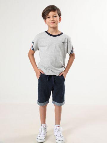 מכנסי ברמודה בסגנון ג'ינס