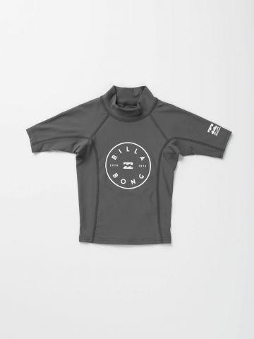 חולצת גלישה הדפס לוגו / בייבי בנים