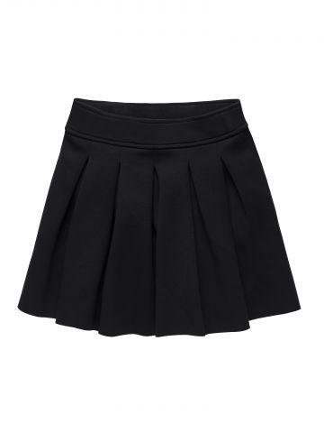 חצאית קפלים מתנופפת / בנות