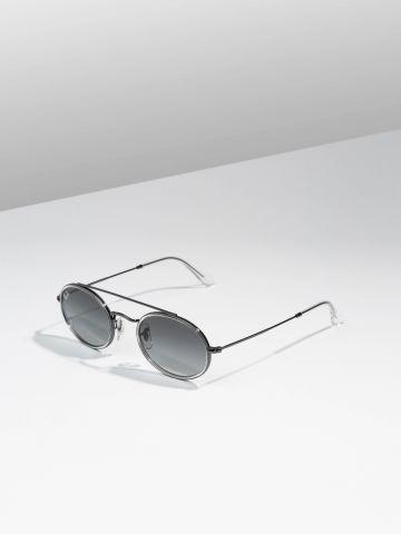 משקפי שמש אובליים עם גשר Metal Unisex