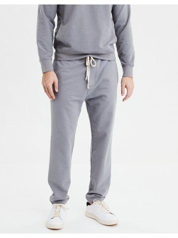מכנסי טרנינג עם גומי בסיומת