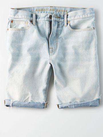 ג'ינס קצר בשטיפה בהירה / גברים של AMERICAN EAGLE