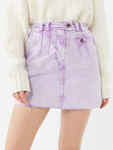 חצאית מיני ג'ינס ווש BDG