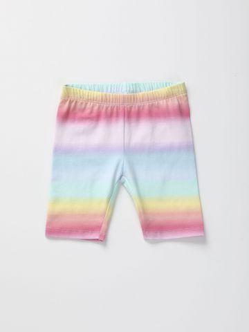 מכנסי טייץ קצרים מולטי קולור / בנות