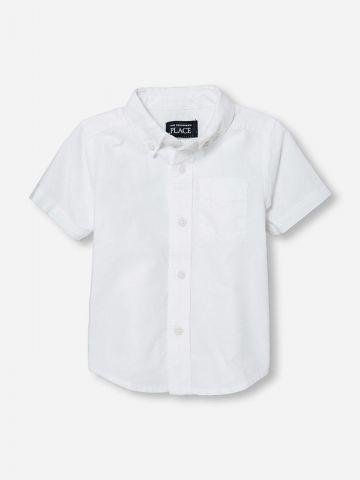 חולצה מכופתרת עם שרוולים קצרים / בייבי בנים של THE CHILDREN'S PLACE