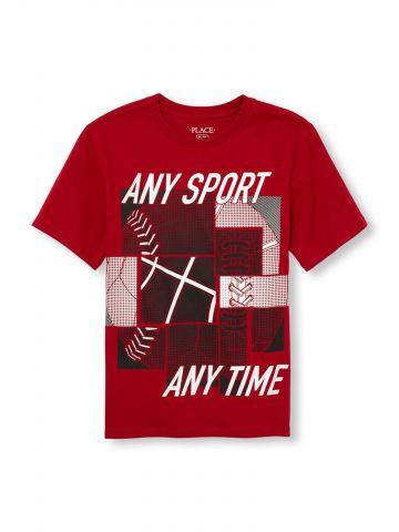 טי שירט Any Sport Any Time / בנים