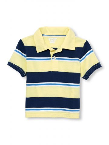 חולצת פולו בהדפס פסים / בייבי בנים