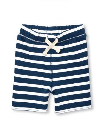 מכנסי טרנינג קצרים בהדפס פסים / בייבי בנים