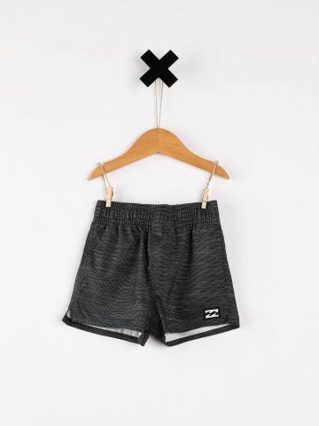 מכנסי בגד ים קצרים בהדפס אומברה / בייבי בנים