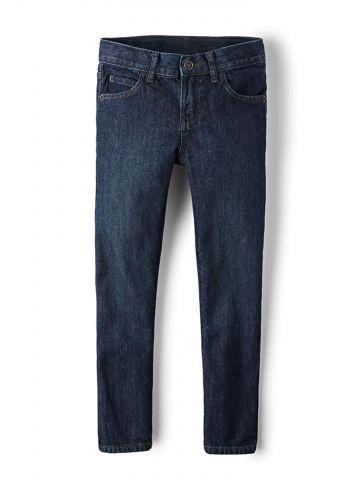מכנסי ג'ינס סקיני בשטיפה כהה / בנים