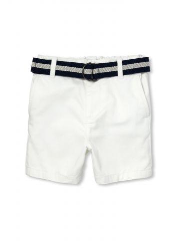 מכנסיים קצרים עם חגורה נלווית / בייבי בנים