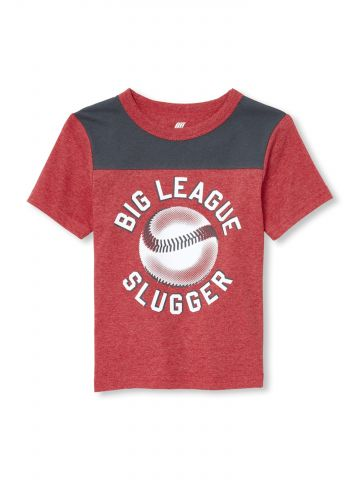 טי שירט Big League Slugger / בייבי בנים