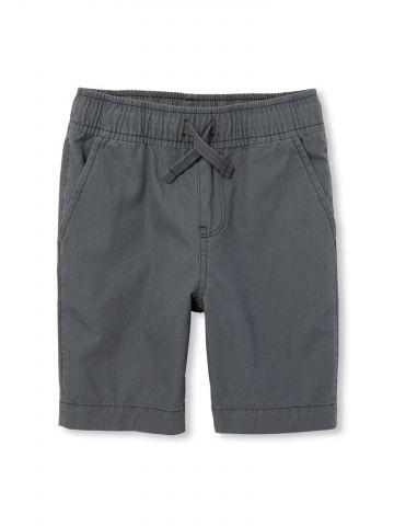 מכנסיים קצרים עם גומי במותן / בנים