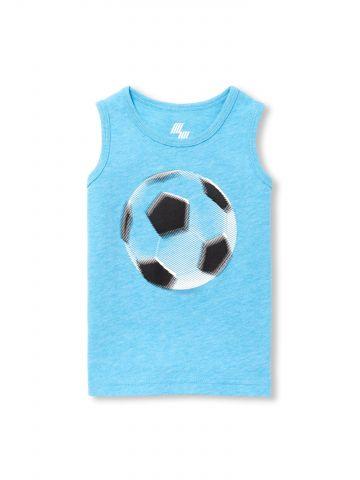 גופיה עם הדפס כדורגל / בייבי בנים