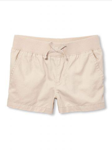 מכנסיים קצרים עם כיסים בצדדים / בנות