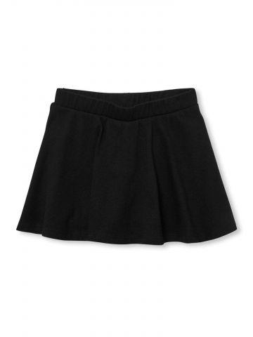מכנסי חצאית עם גומי במותן / בייבי בנות