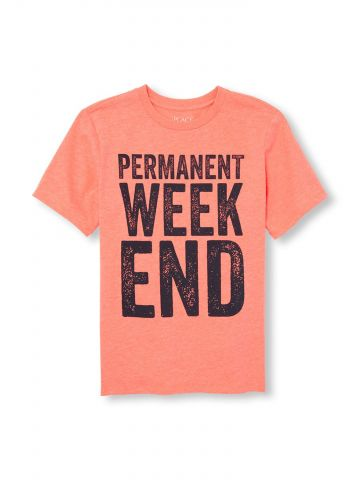 חולצת טי שירט weekend / בנים