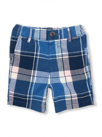 מכנסיים קצרים בדוגמת משבצות / בייבי בנים