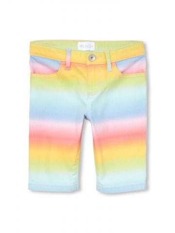 ג'ינס קצר קשת בענן / בנות