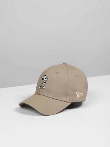 כובע מצחייה עם רקמת מיקי מאוס / נשים