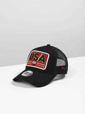 כובע מצחייה עם פאץ' 9FORTY USA / גברים