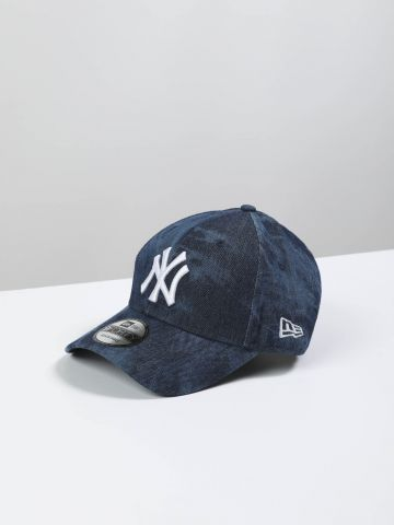 כובע מצחייה ג'ינס ווש עם לוגו 9FORTY
