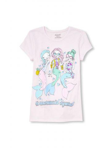 טי שירט Mermaid Squad / בנות