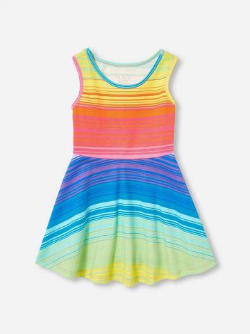 שמלת מיני מולטי קולור / N.B-5Y