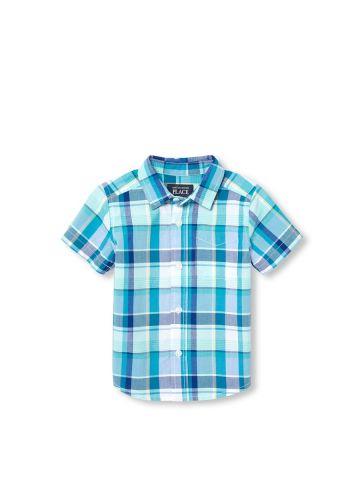 חולצת משבצות מכופתרת / 6M-5Y
