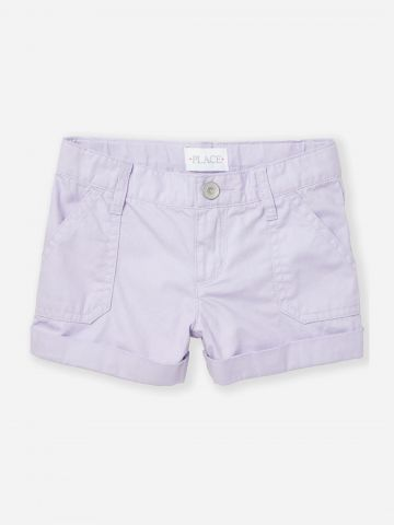 מכנסיים קצרים עם כיסים / בנות