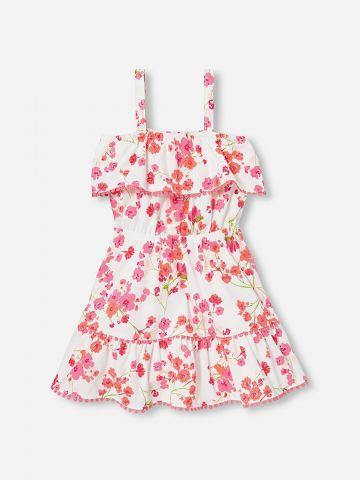 שמלת קולד שולדרס בהדפס פרחים / 6M-5Y