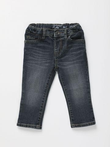 ג'ינס ארוך עם שפשופים / 6M-5Y