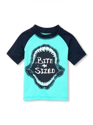 חולצת בגד ים דג Bite Sized / בייבי בנים