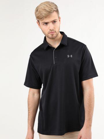 חולצת פולו ספורט עם לוגו