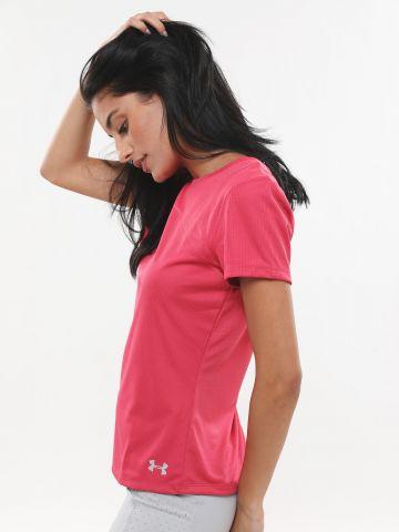 חולצת דריי-פיט עם הדפס לוגו