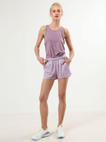 מכנסי ספורט קצרים עם הדפס גלים לורקס