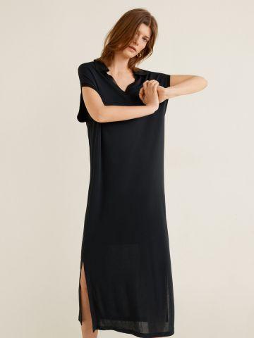 שמלת מקסי עם שסעים