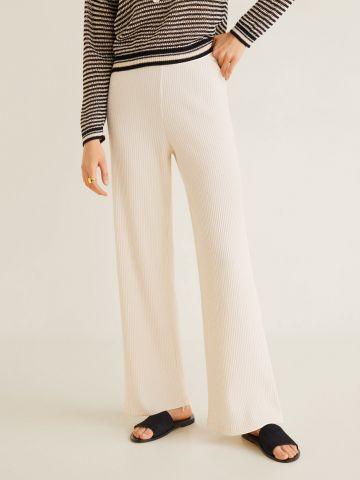מכנסי ריב בגזרה ישרה
