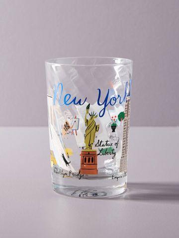 כוס זכוכית לשתייה New York City