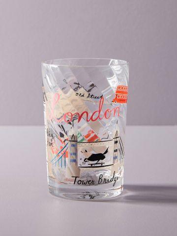 כוס זכוכית לשתייה London