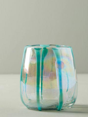 מארז 4 כוסות יין נמוכות מזכוכית Isadora