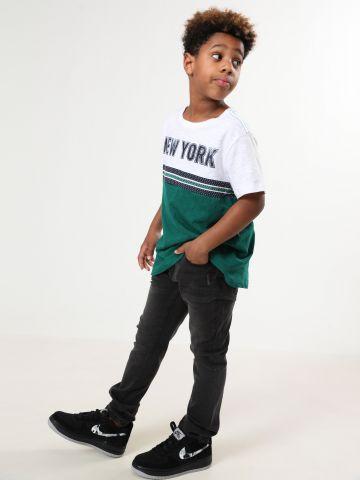 ג'ינס סקיני עם ווש